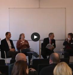 Live-Streaming der Keynotes und Podiumsdiskussion vor Ort und ins Netz